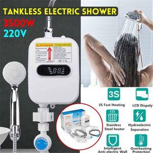 3500W 220V Elektrischer Durchlauferhitzer Küche Badezimmer Warmwasser Heizung LCD Bildschirm Mit Bad Dusche Kit