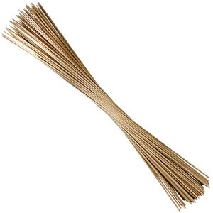 100 Rankhilfen Pflanzstäbe aus Bambus 90 cm lang 6mm Ø - sehr stabil