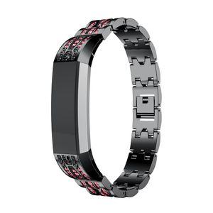 Edelstahl Kristall Uhrenarmband Armband Fš¹r Fitbit Alta HR / Fitbit Alta