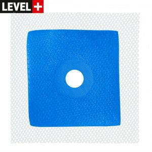 Wanddichtmanschette 120 x 120 x Ø16mm Duschelement Abdichtung Flüssigfolie Dichtband Bad Dusche B01 RM49 Reines Elastomer 100%