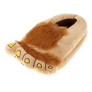 Big Hairy  Feet Home Indoor Plüsch Hausschuhe Unisex Schuhe Warm