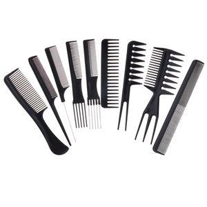 10 Stück Professionelle Friseur Salon Haarschneide Kämmen, Friseur Stylist Kamm Friseurkamm Set