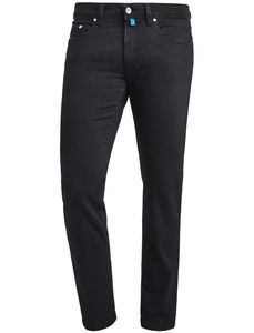 Pierre Cardin Herren Jeans Hose Lyon Trapered Fit Futureflex Black Denim 3451-8880 88 *, Größe:W38/L30, Farbe:88schwarz
