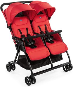 CHICCO buggy Doppel-Buggy Ohlalà Twin junior 100 cm rot