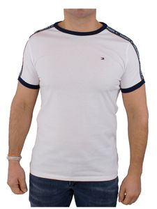 Tommy Hilfiger Herren RN T-Shirt, Weiß M