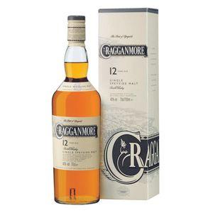 Cragganmore 12 Jahre Single Speyside Malt Scotch Whisky in Geschenkpackung | 40 % vol | 0,7 l