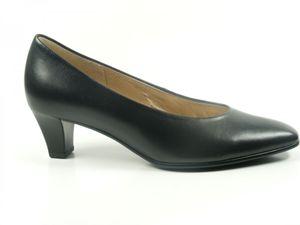 Gabor 05-180 Schuhe Damen Pumps Weite F Leder Best Fitting, Schuhgröße:38, Farbe:Schwarz