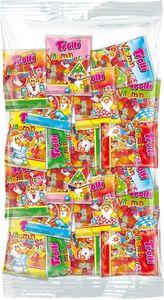 Trolli Fruchtgummi Vitamin Zwerge 100 Minibeutel á 10g, für Karneval oder Party, 1000g