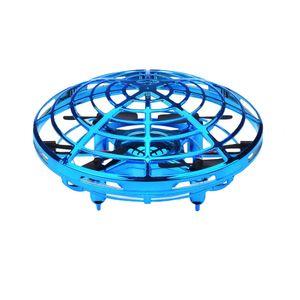 Weihnachten 2020 Mini Drohne UFO handbetriebenen Hubschrauber Quadrocopter Drohne Infrarot Induktionsflugzeug Flying Ball Spielzeug fuer Kinder