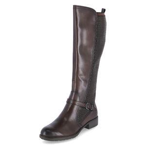 Tamaris Damen Elegante Stiefel 1-25511-25 Braun 304 MOCCA Leder/Synthetik mit TOUCH-IT, Groesse:40 EU