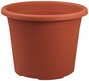 5er Set Topf Cylindro 50 cm aus Kunststoff Sparpaket, Farbe:terracotta