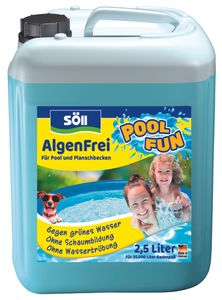 Söll Algenentferner Pool 2,5 Liter AlgenFrei für 25 Qbm