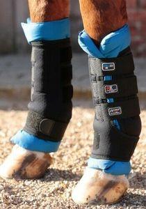 Premier Equine Stallgamaschen Magni-Teque Magnetic Boot Wraps XL Schwarz/Blau