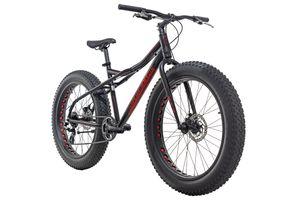 Mountainbike MTB Fatbike SNW2458 schwarz