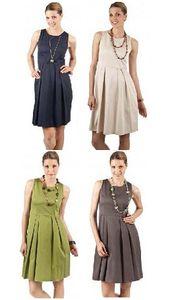 Lybwylson by Toff Togs elegantes Kleid Businesskleid verschiedene Farben Größe:38;Farbe:blau