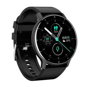 Neue smart watch1.3 touchscreen smart band männer frauen pulsmesser smart fitness armband sport smartwatch für android ios (schwarz)