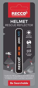 RECCO Rescue Reflector Skisport Rettungssystem für Ski-,Snowboard- oder Bergausrüstung