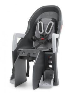 Polisport fahrradsattel hinten Guppy Maxi-Trägerbefestigung schwarz/grau