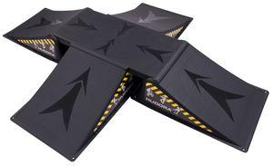 Hudora Skater Rampen Set, 5-teilig, 11118