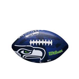 """Seattle Seahawks - Logo - American Football """"NFL"""" - Gummi, PolyurethanRD1516 (6) (Blau/Weiß)"""