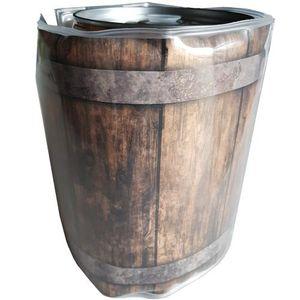 Fasskuehler 5 Liter Holzfassoptik
