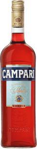 1 l Flasche Campari Bitter Aperitif Italien | 25 % vol | 1,0 l