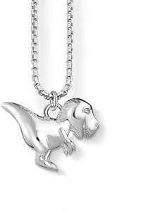 Thomas Sabo Kette Halskette mit Anhänger Dinosaurier  925 Sterlingsilber blank SCKE150205