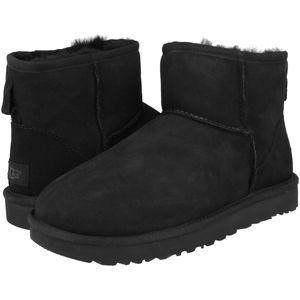 UGG Classic Mini II Boot Stiefel Damen Schwarz (1016222 BLK) Größe: 38