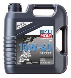 4 Liter LIQUI MOLY 10W-40 Motorbike 4T Street