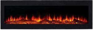 El Fuego® Elektrokamin MERAN inkl. Fernbedienung mit energiesparender LED-Beleuchtung, Einbaukamin, 130 cm