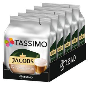 TASSIMO Jacobs Typ Latte Macchiato Classico T Discs Kapsel 5 x 8 Getränke)