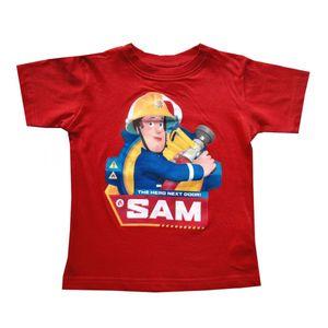 Feuerwehrmann Sam Tshirt, rot, Gr. 92-116 Größe - 110