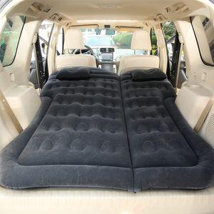Auto SUV Luftmatratze Bewegliche Dickere Luftbett Auto Matratze für Reisen Camping Outdoor Aktivitäten (Schwarz)