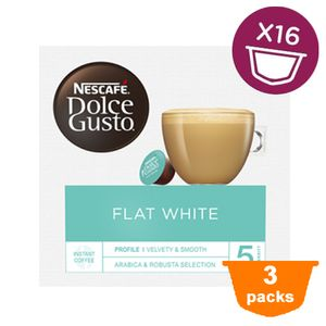 Dolce Gusto - Flat White - 3x 16 Kapseln