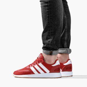 adidas Originals Iniki Runner Herren Sneaker Rot Schuhe, Größe:46 2/3