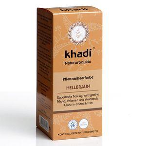 Khadi Haarfarbe Hellbraun 100g
