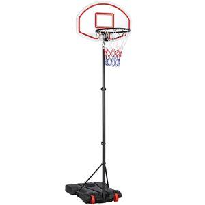 Yaheetech Basketballkorb mit Ständer Basketballkorb Set Basketballanlage Höhenverstellbare Korbanlage
