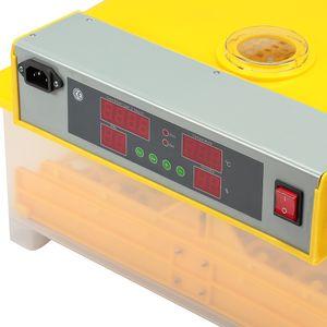 Melko Inkubator Vollautomatisch 48 Eier Brutkasten Brutmaschine Geflügel Motorbrüter Brutautomat Hühner