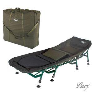 Angelliege Komfort, 8 Beine + Tragetasche Bedchair Bag XXL