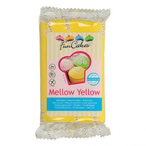 FunCakes Fondant Mellow Yellow 250g