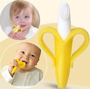 Hohe Qualität Silikon Zahnbürste Und Umwelt Sichere Baby Beißring Zahnen Ring Kinder Beißring Kinder Kauen