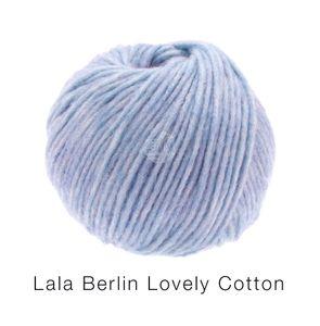Lana Grossa - Lala Berlin Lovely Cotton - Fb. 17 fliederlila 50 g