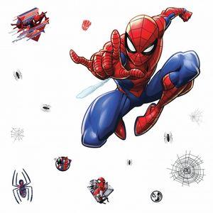 RoomMates wandaufkleber xl Marvel Spider-Man vinyl 18 Stück