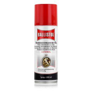 Ballistol Feinmechanik-Öl Ustanol Spray 200ml - Rostschutz (1er Pack)