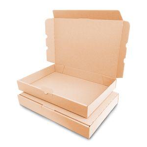 verpacking 10 Maxibriefkartons Versandkartons Faltschachtel Faltkarton Maxibrief 350 x 250 x 50 mm   Braun   MB-5