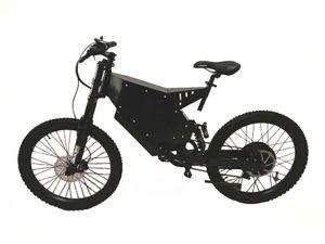 "Theebikemotor 72V5000W 26"" * 2.6 Rad Stealth Bomber MTB Elektrofahrräde E-Bike + TFT Display"