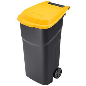 Abfalltonne 100 l ATLAS, Farbe:Gelb