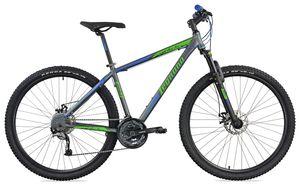 29 Zoll Mountainbike Andalo Aluminium Scheibenbremsen 27 Gänge Schwarz-Rot 45 cm Rahmengröße