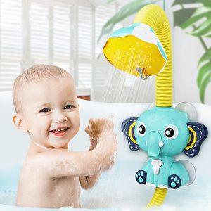 Bad Spielzeug Baby Wasser Spiel Elefanten Modell Wasserhahn Dusche Elektrische Wasser Spray Spielzeug Für Kinder Schwimmen Bad Kleinkind Spielzeug
