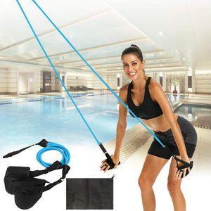 Einstellbare Pool Schwimmgürtel, Schwimmwiderstand Gürtel Schwimmtraining Bungee